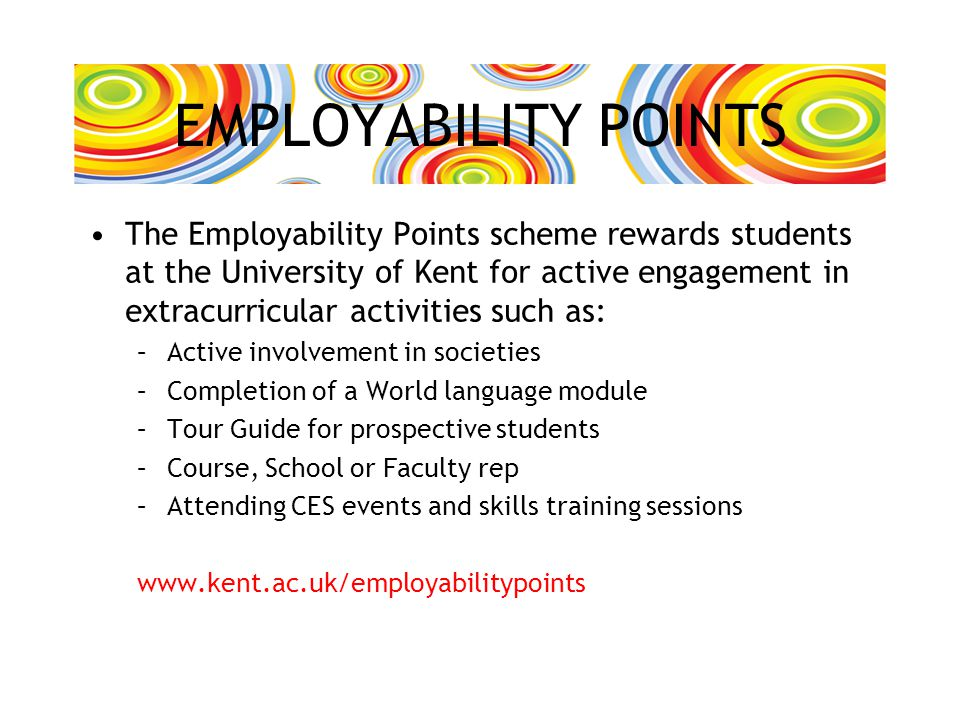 EMPLOYABILITY POINTS