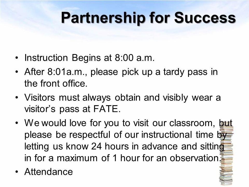 Partnership for Success