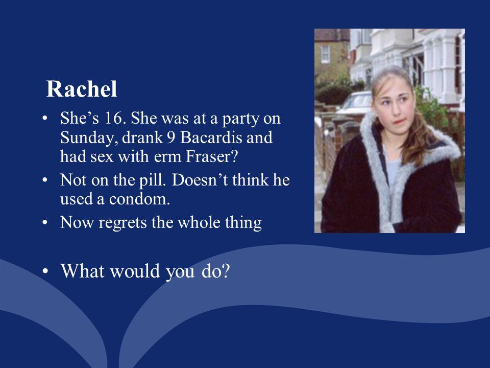 Rachel What would you do