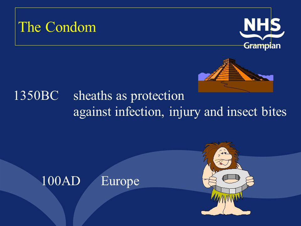 The Condom 1350BC sheaths as protection