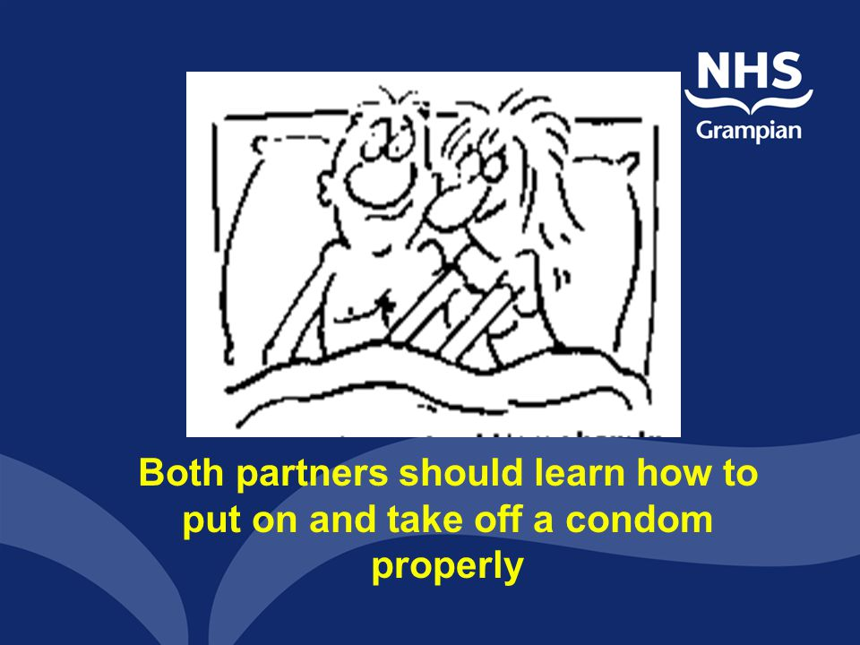Some handy hints when dealing with condoms