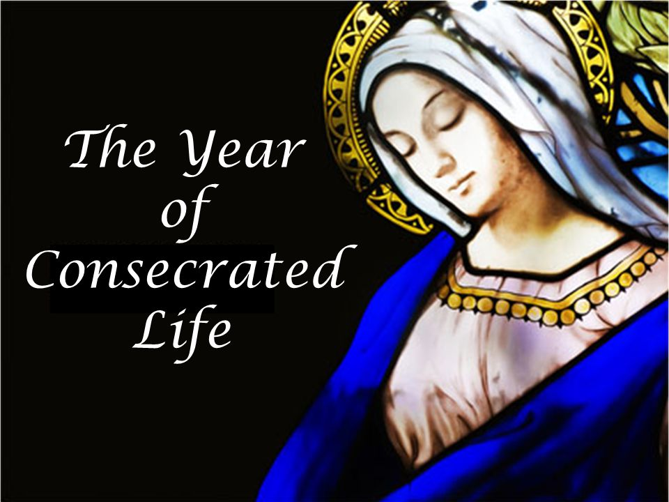 The Year of Consecrated Life