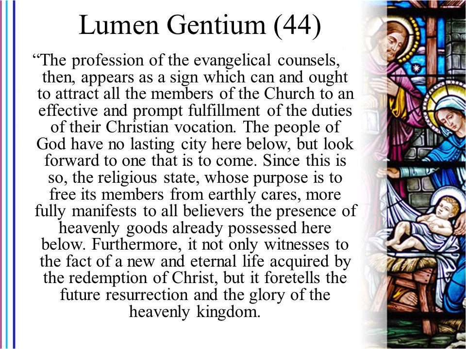 Lumen Gentium (44)