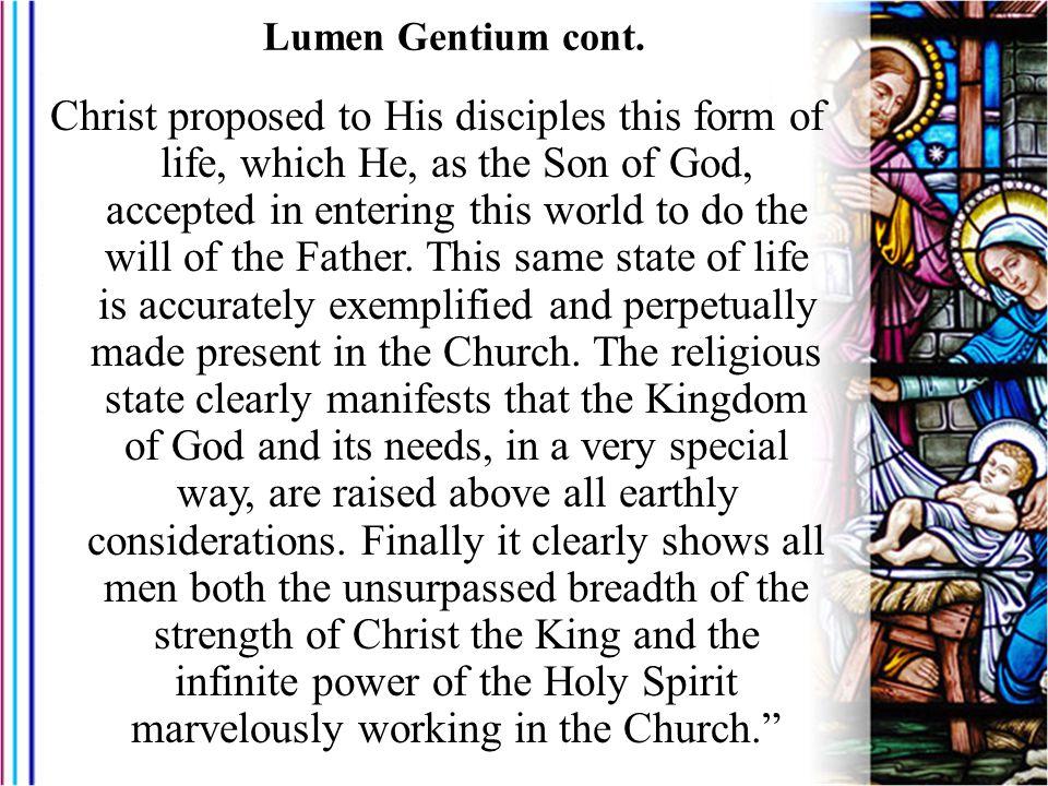 Lumen Gentium cont.