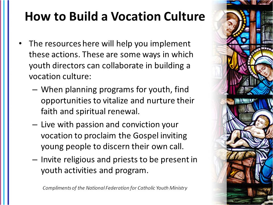 How to Build a Vocation Culture