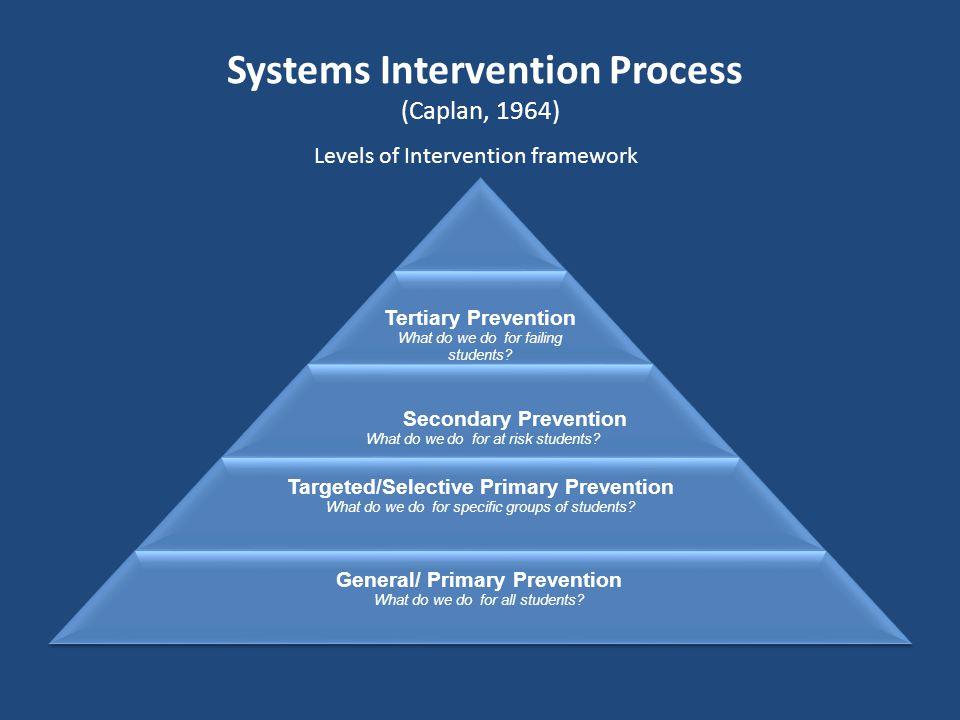 Systems Intervention Process (Caplan, 1964)
