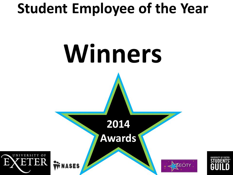 Student Employee of the Year Winners