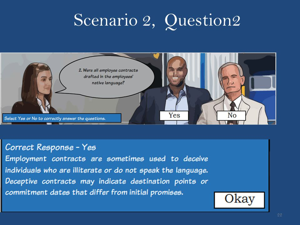 Scenario 2, Question2