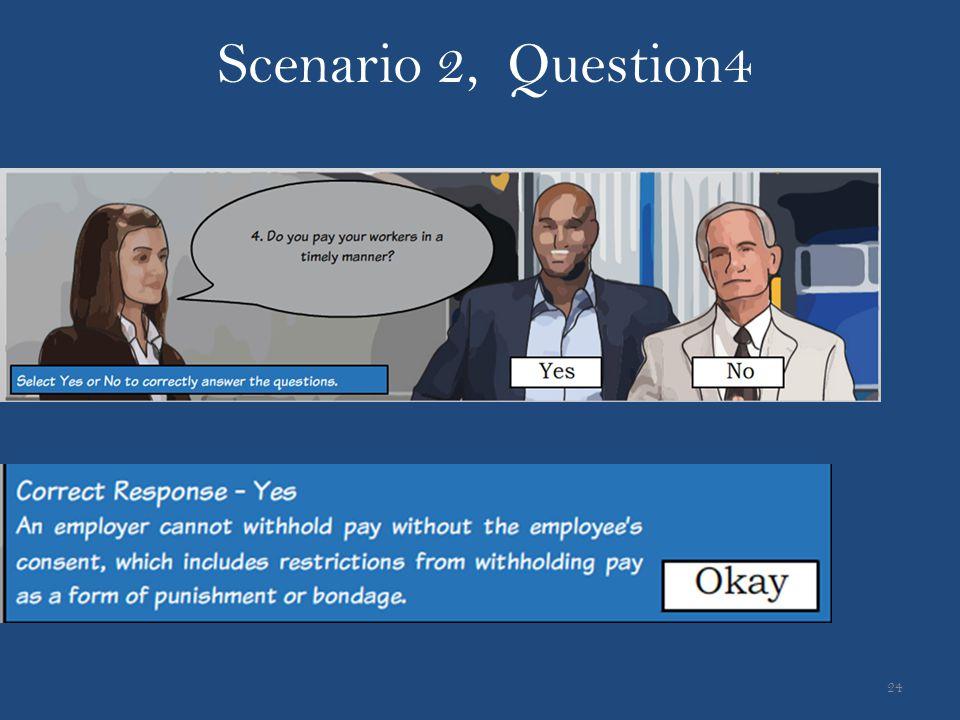 Scenario 2, Question4