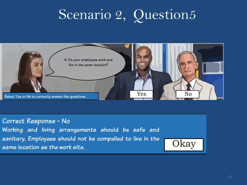 Scenario 2, Question5