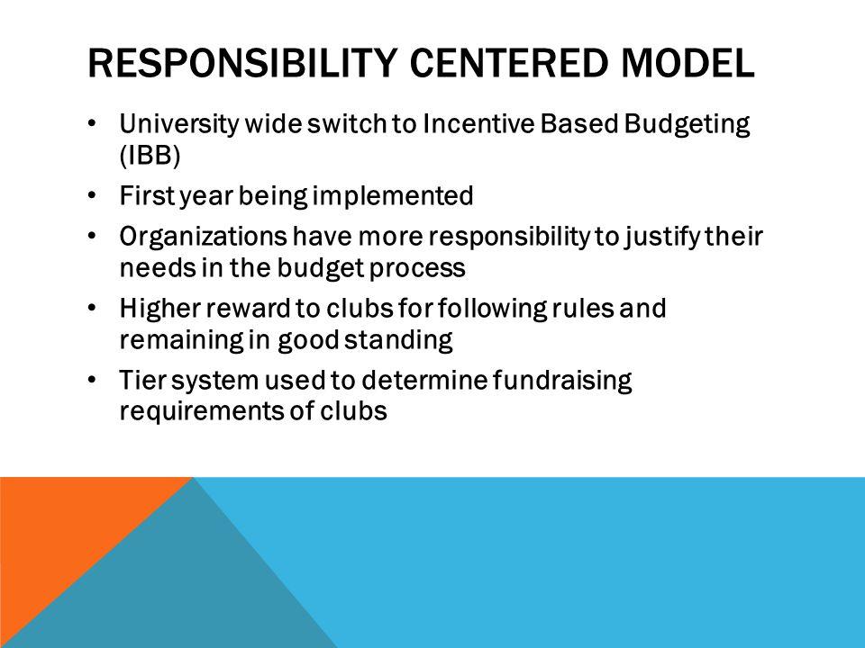Responsibility centered model