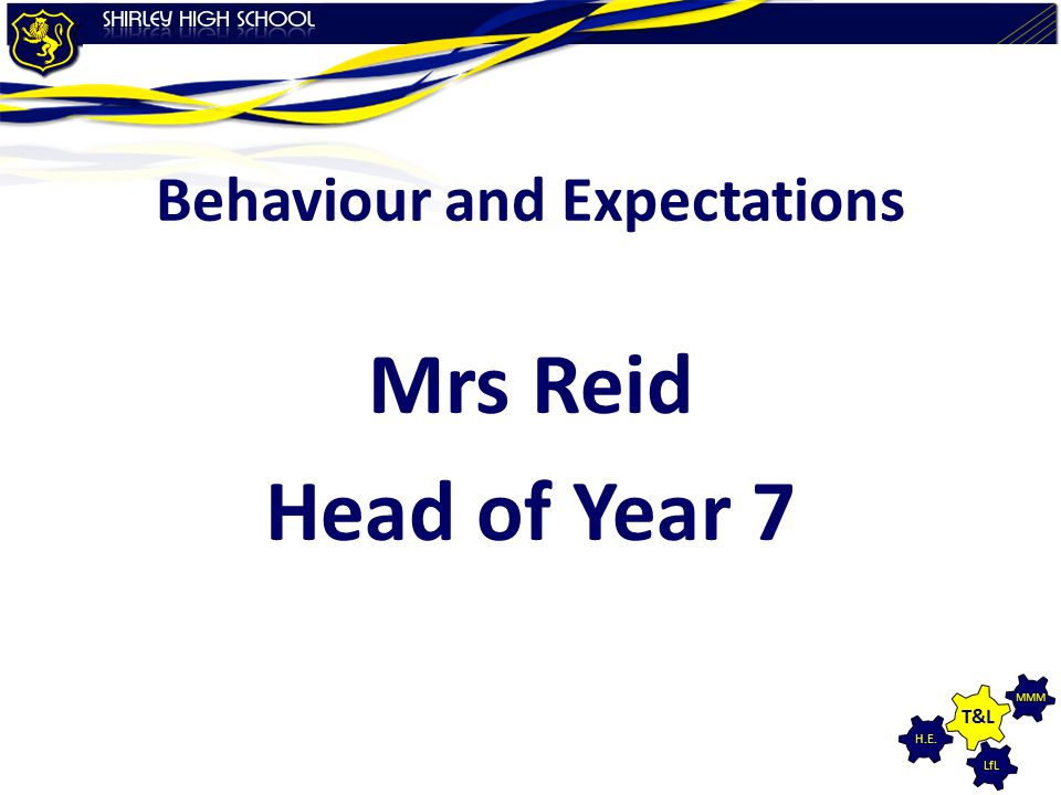 Behaviour and Expectations