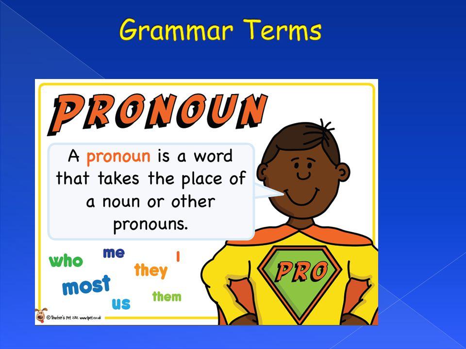 Grammar Terms