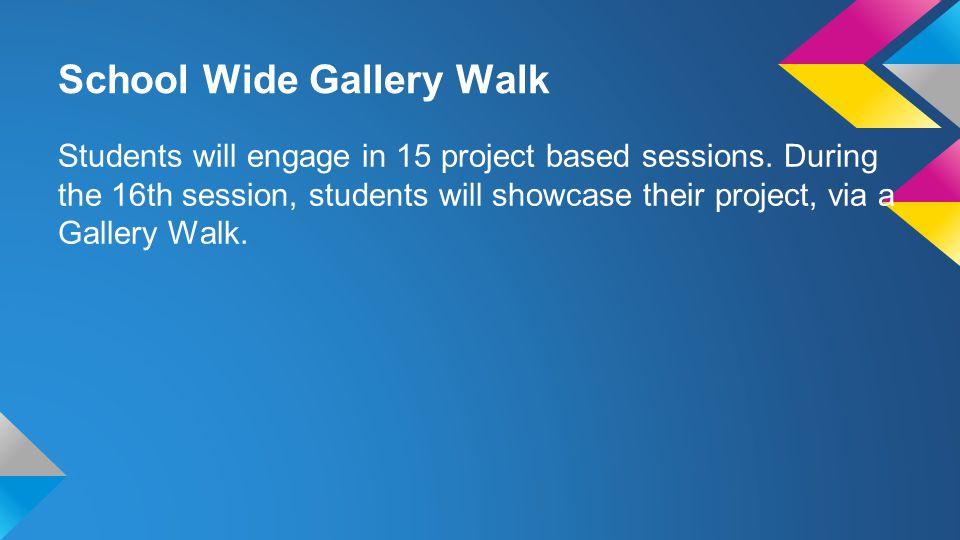 School Wide Gallery Walk