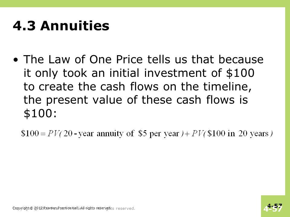 4.3 Annuities