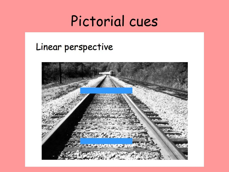 Pictorial cues