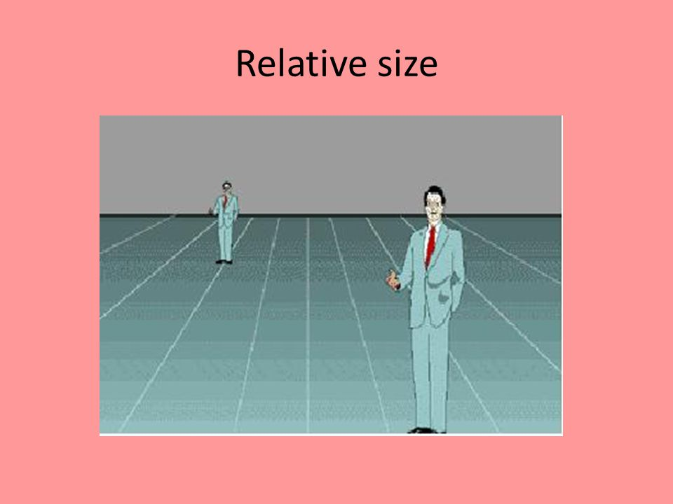 Relative size