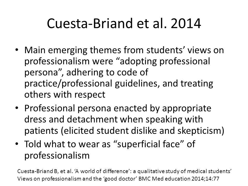 Cuesta-Briand et al. 2014