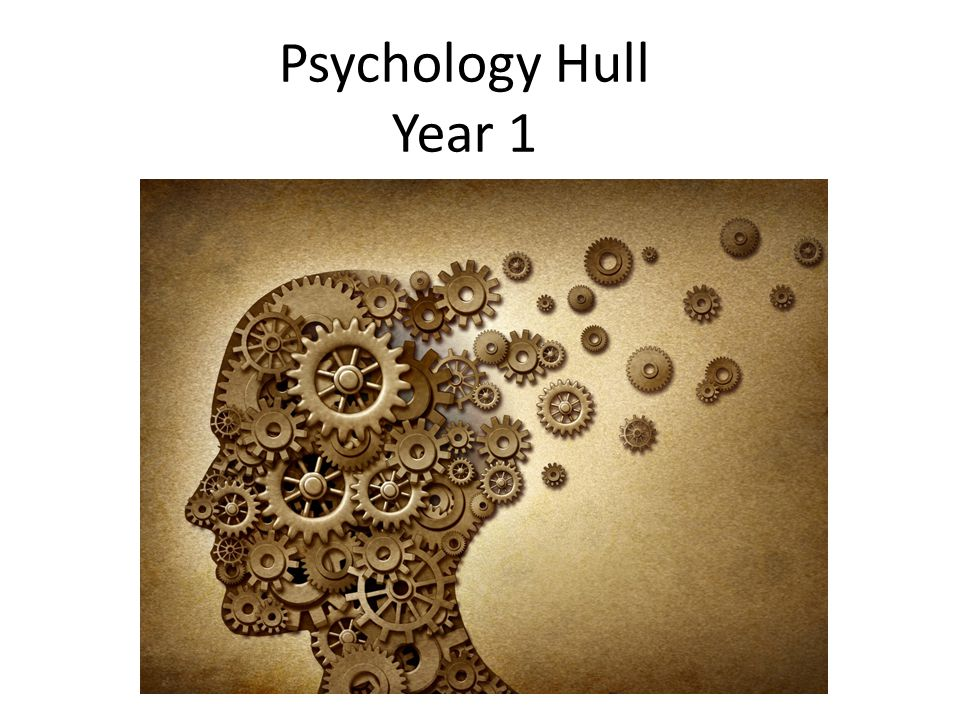 Psychology Hull Year 1