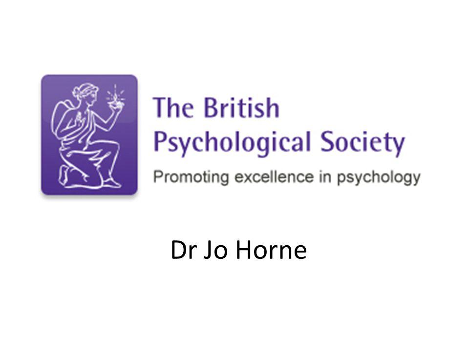 Dr Jo Horne