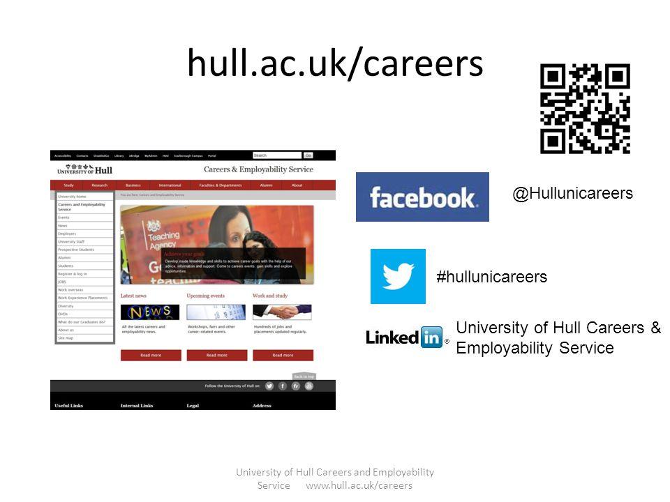 hull.ac.uk/careers @Hullunicareers #hullunicareers