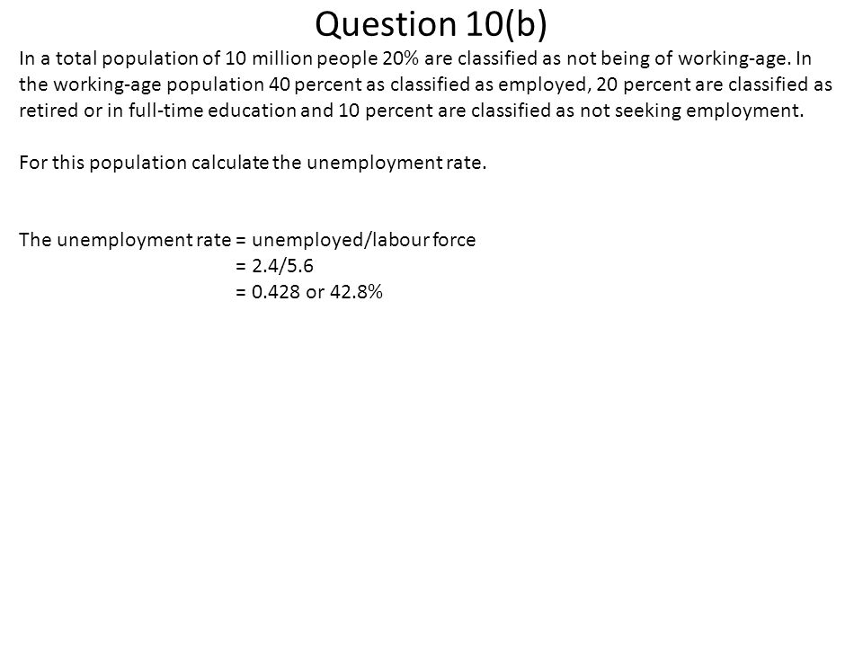 Question 10(b)