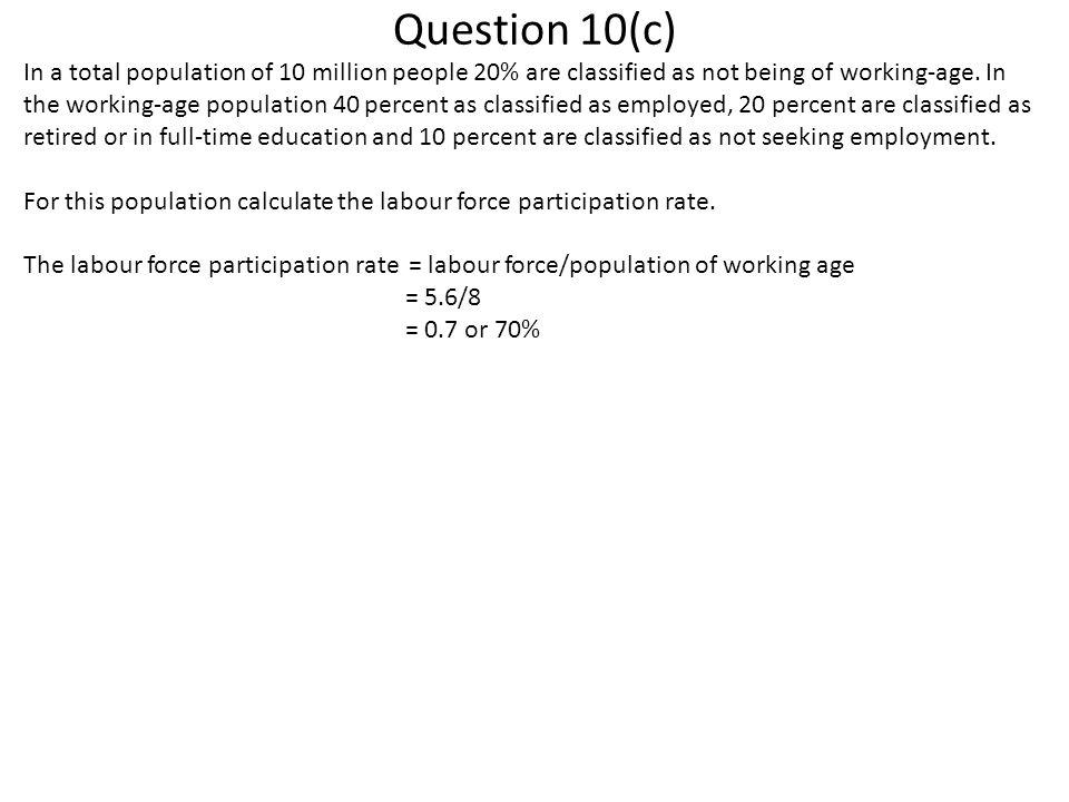 Question 10(c)