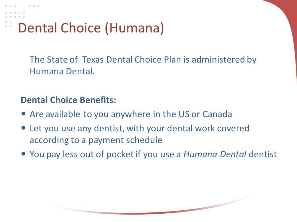 Dental Choice (Humana)