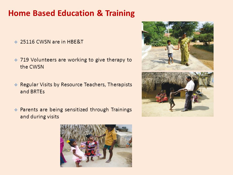 Home Based Education & Training