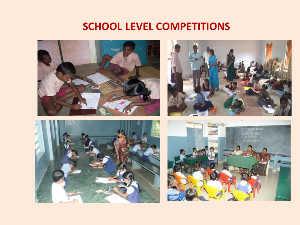 SCHOOL LEVEL COMPETITIONS