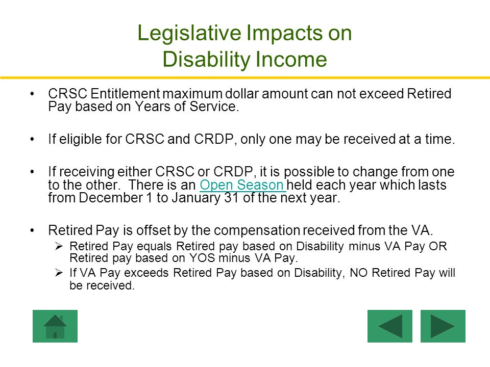Legislative Impacts on Disability Income