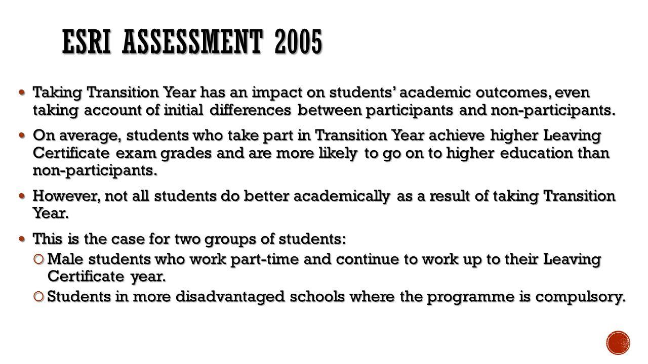 ESRI Assessment 2005