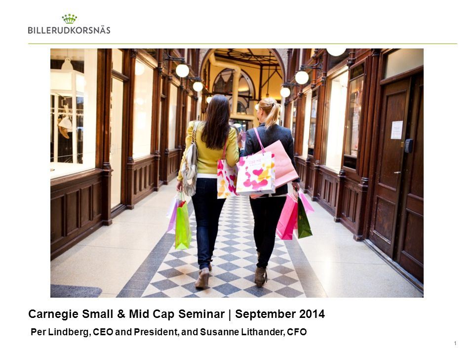 Carnegie Small & Mid Cap Seminar | September 2014
