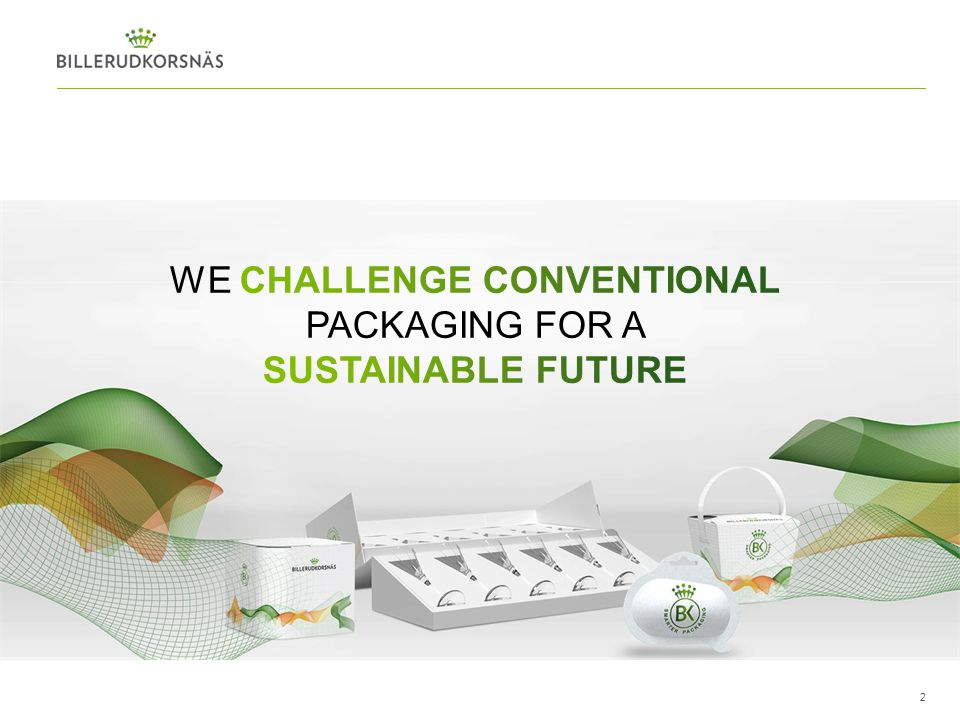 We challenge conventional packaging for a