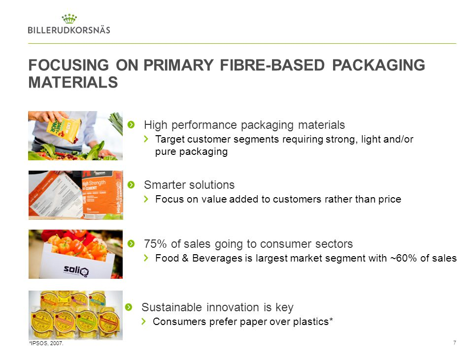 FOCUSING ON PRIMARY FIBRE-BASED PACKAGING MATERIALS