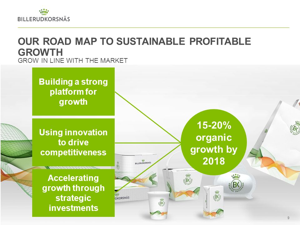 OUR ROAD MAP TO SUSTAINABLE PROFITABLE GROWTH