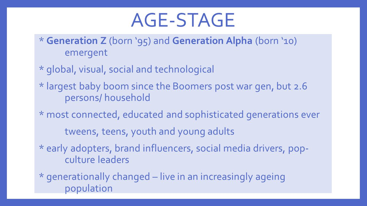 AGE-STAGE