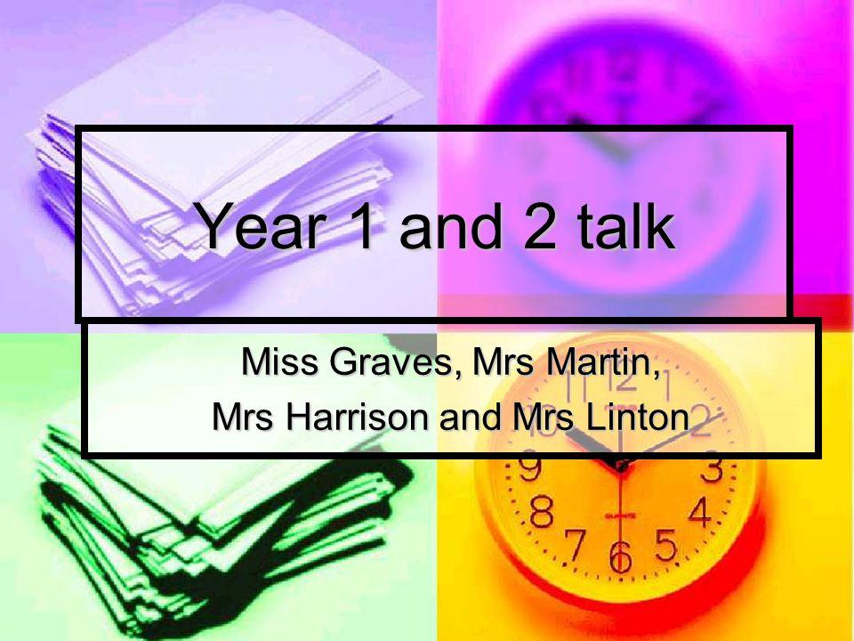 Miss Graves, Mrs Martin, Mrs Harrison and Mrs Linton