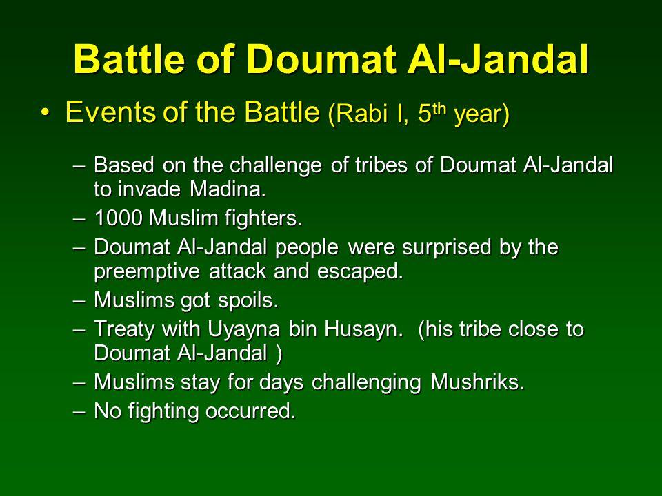 Battle of Doumat Al-Jandal