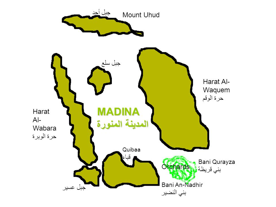 MADINA المدينة المنورة جبل أحد Mount Uhud جبل سلع Harat Al-Waquem