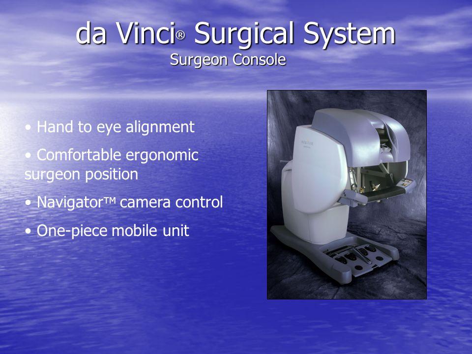 da Vinci® Surgical System Surgeon Console