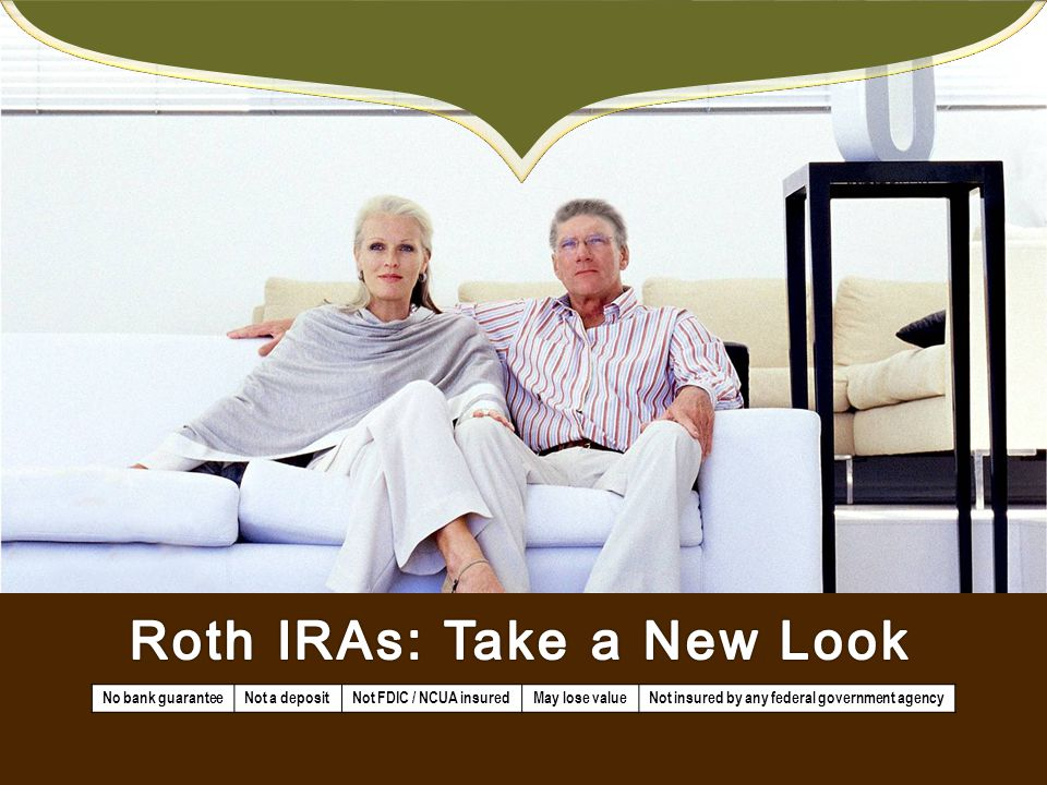 Roth IRAs: Take a New Look