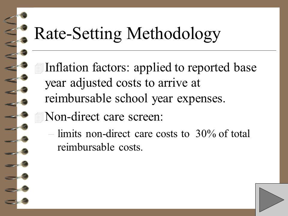 Rate-Setting Methodology