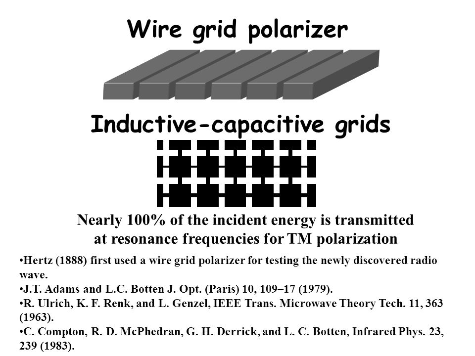Inductive-capacitive grids