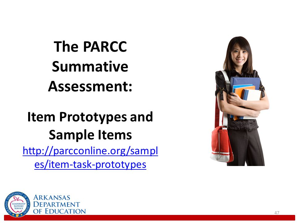 The PARCC Summative Assessment:
