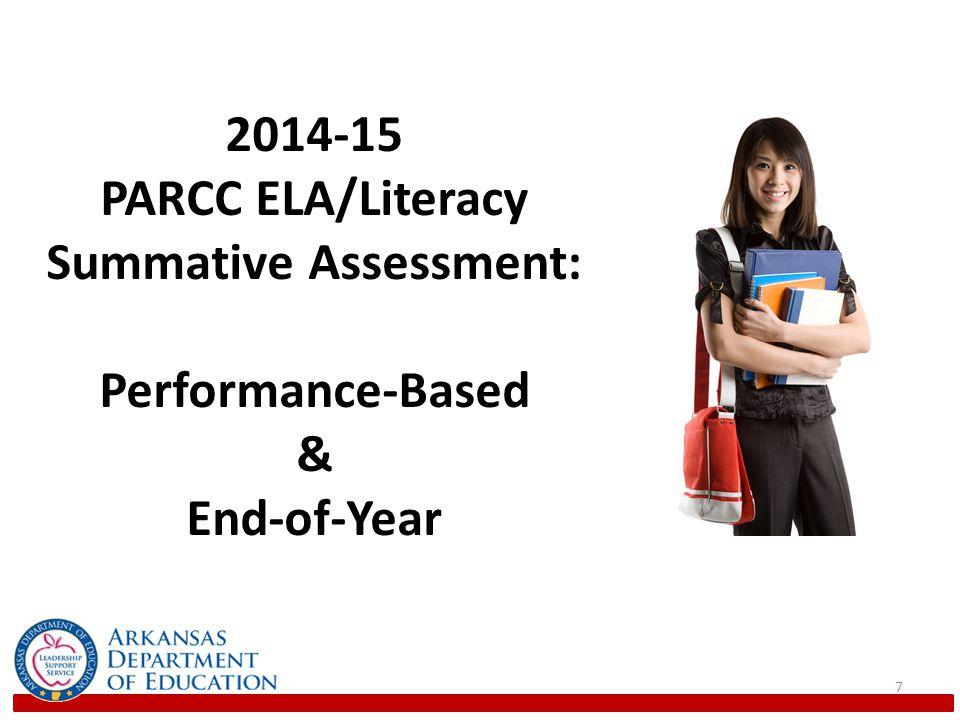 PARCC ELA/Literacy Summative Assessment: