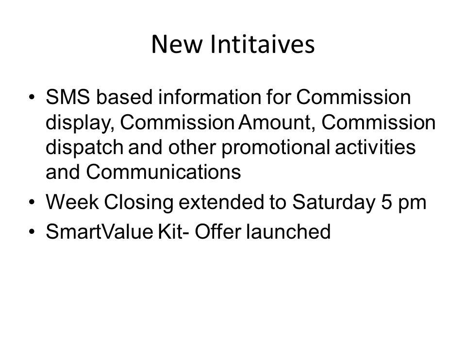 New Intitaives