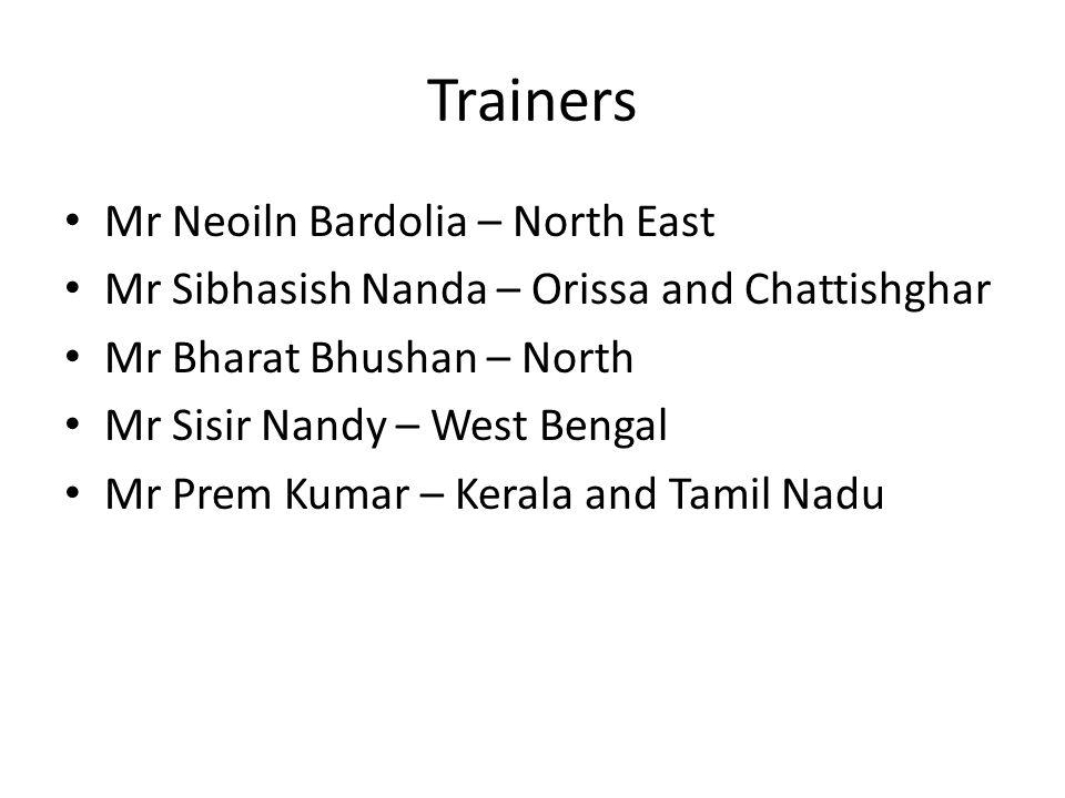Trainers Mr Neoiln Bardolia – North East
