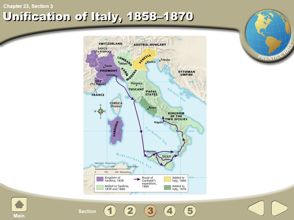 3 Unification of Italy, 1858–1870