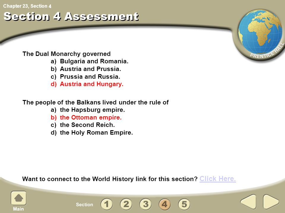 Section 4 Assessment 4.